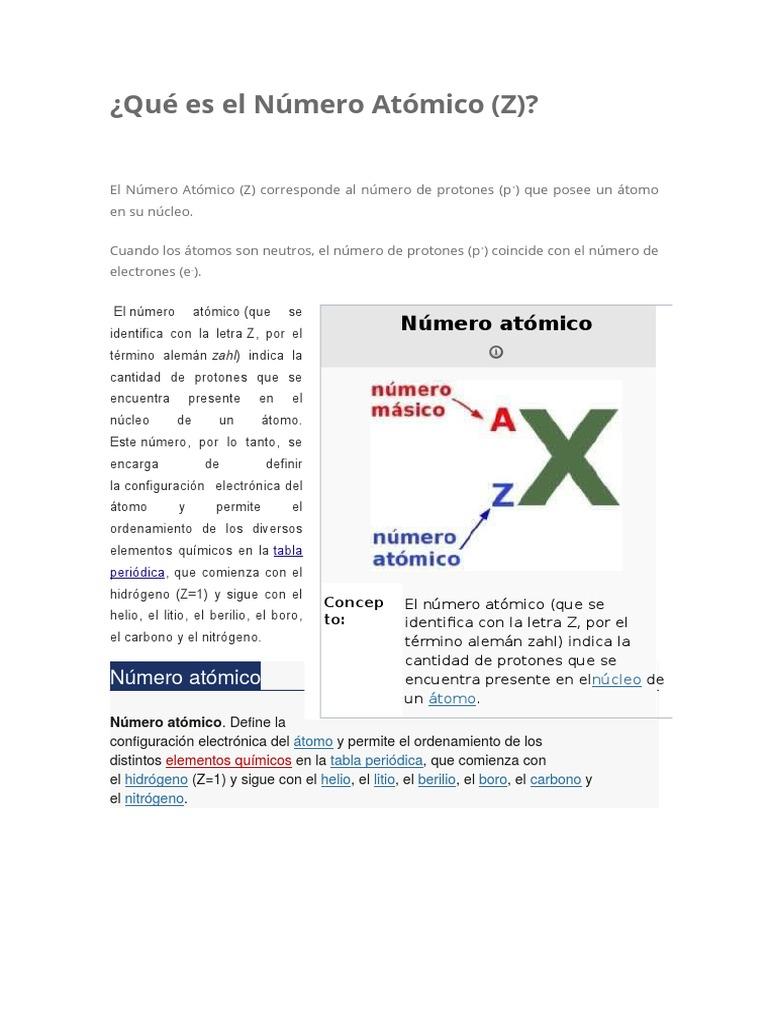 Qu es el nmero atmico 1 urtaz Image collections
