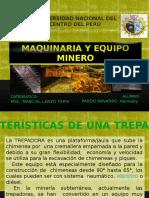 Plataforma Trepadora Electrica UNCP