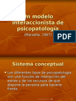 Un Modelo Interaccionista de La Psicopatología. Exposición.