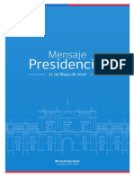 2016 Mensaje Presidencial