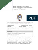 Informe de Pasantia ingenieria civil (Carlos)