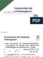 Ecuaciones de Chapman-Kolmogorov
