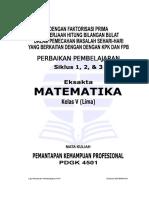 Laporan-Pkp-Matematika-Kelas-5 UT PGSD - S1