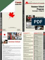 Summer School Brochure 2010 (Eng)