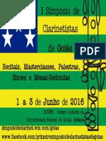 I Simpósio de Clarinetistas de Goiás