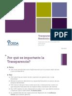 Transparencia y Rendicion Cuentas