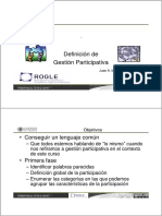 Gestion Participativa UPVx-1