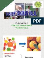 Sistem Jaminan Halal ppt