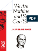 Jasper Bernes We Are Nothing and So Can You