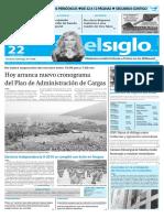 Edicion Impresa El Siglo 22-05-2016
