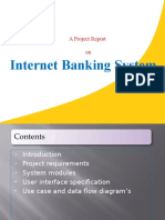 onlinebanking ppt in java