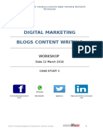 Workshop_dated 12 March 2016_blooging _case Study 1