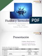 Fluidos y Termodinámica 1