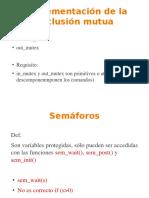 Semaphore Operating System