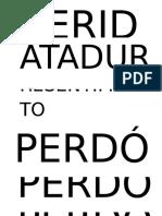 Perdon