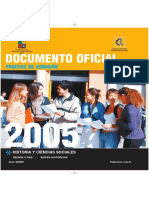 Psu Historia y Ciencias 2005