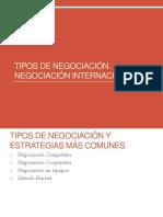 6 Tipos de Negociacion