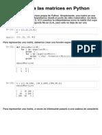 Introduccion Matrices