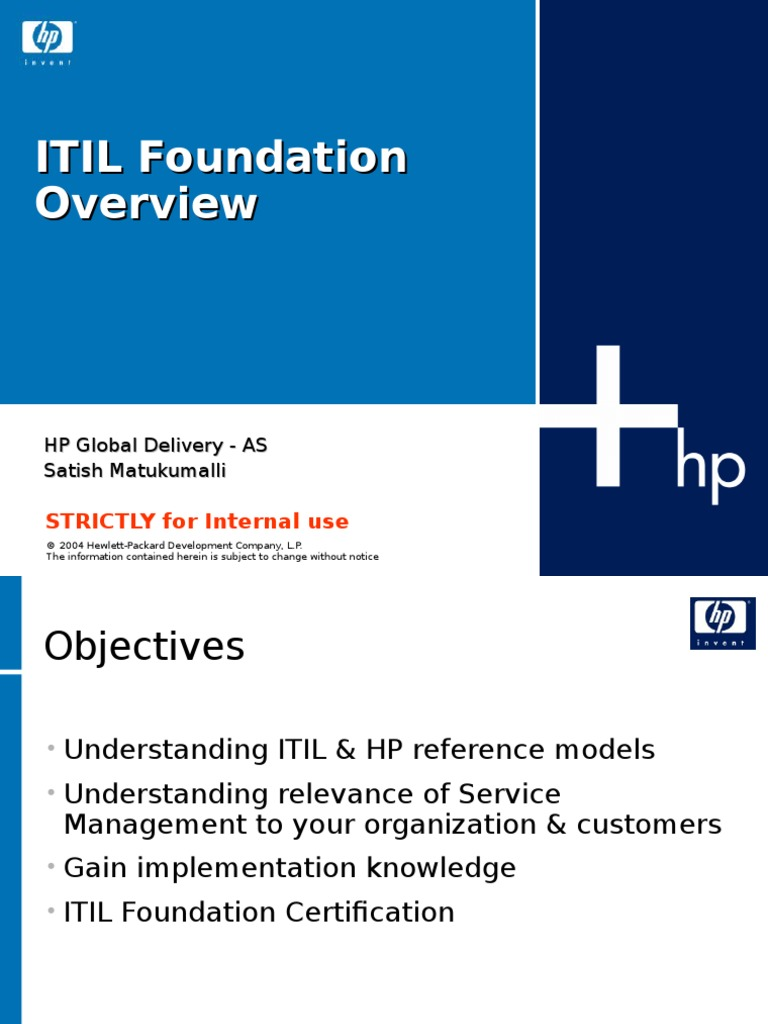 85464666 itil foundation itil information management xflitez Gallery