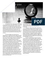 Feature Article - Simon Chute