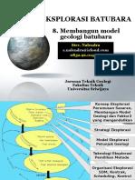 1 Membangun Model Geologi Batubara Sn