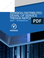 VERISIGN Report DDos Trends Q1-2014