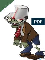 Dibujo plantas vs zombies