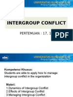 Intergroup Conflict8
