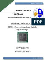 Conversores DAC y ADC Con PIC16F877A