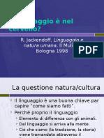 2. Linguaggio e Natura Umana