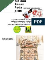 Anamnesis Dan Pemeriksaan Fisik Pada Appendisitis