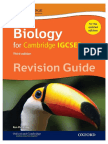 IGCSE Biology Revision Guide