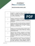 Criterios Evaluación 4ºeso Inglés