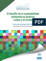 El Desafio de La Sostenibilidad Ambiental en America Latina y El Caribe