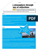8.05.6 - W - Create an Atmosphere Through the Use of Adjectives Lv. 7-8