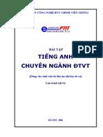 BCVT.Bai Tap Tieng Anh Chuyen Nganh Dien Tu Vien Thong - Ths. Nguyen Quynh Giao, 86 Trang.pdf