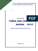 BCVT.Bai Giang Tieng Anh Chuyen Nganh DTVT 2010 - Ths.Nguyen Quynh Giao, 163 Trang.pdf
