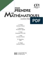 Hachette-guide Pedago Livre Pour Comprendre Les Mathmatiques Ce1