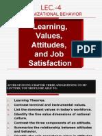 Value Attitude Job Satisfaction