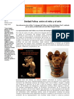 Deidad Felina Entre El Mito y El Arte - Por  Lic. Alba Choque Porras - Articulo en Arte Corpus Mayo 2010