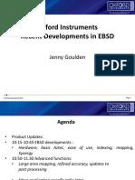 Presentations EBSD