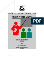 Australian Maritime College Ship DYNAMIC