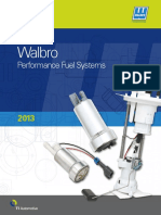 Walbro Aftermarket Catalog 2013