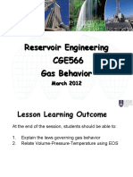 Gas Behaviour