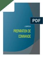 4- Processus Preparation de Commande