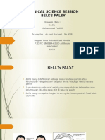 Clinical Science Session Bell's Palsy