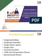 Incepto, NATA, Architecture