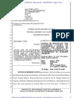USDC - Dkt 22 - Calif Supreme Court's Motion to Dismiss - filed 5-5-2010