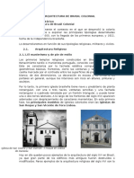 La Arquitectura de Brasil Colonial Tipologias