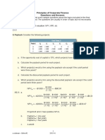 Sample Problems - Principles of Corporate Finance Dec 2015(1)